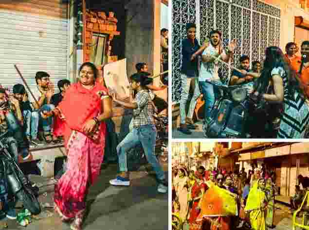 Women In India Storm The Streets To Flog Men, See SHOCKING Reason 12