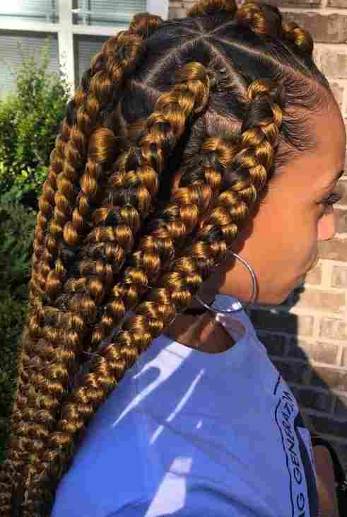 Scooper Rwanda Beauty News Braids Always Stand Out In Hairstyles See These Latest Jumbo Braid Styles